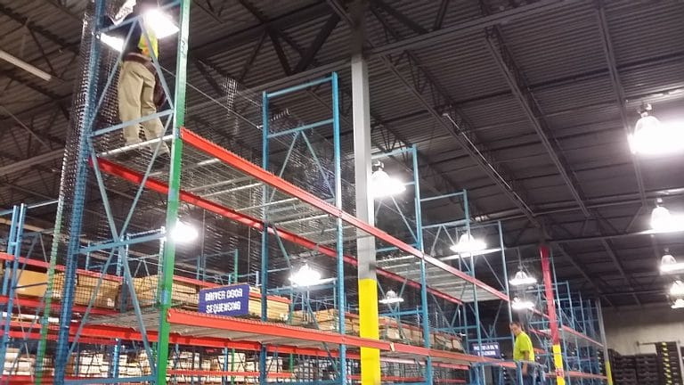 Warehouse Rack System Installation Project